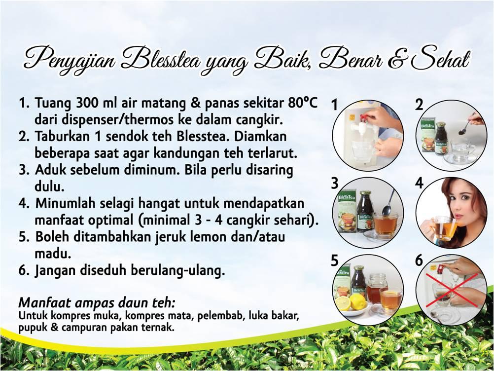 Penyajian Bless Tea